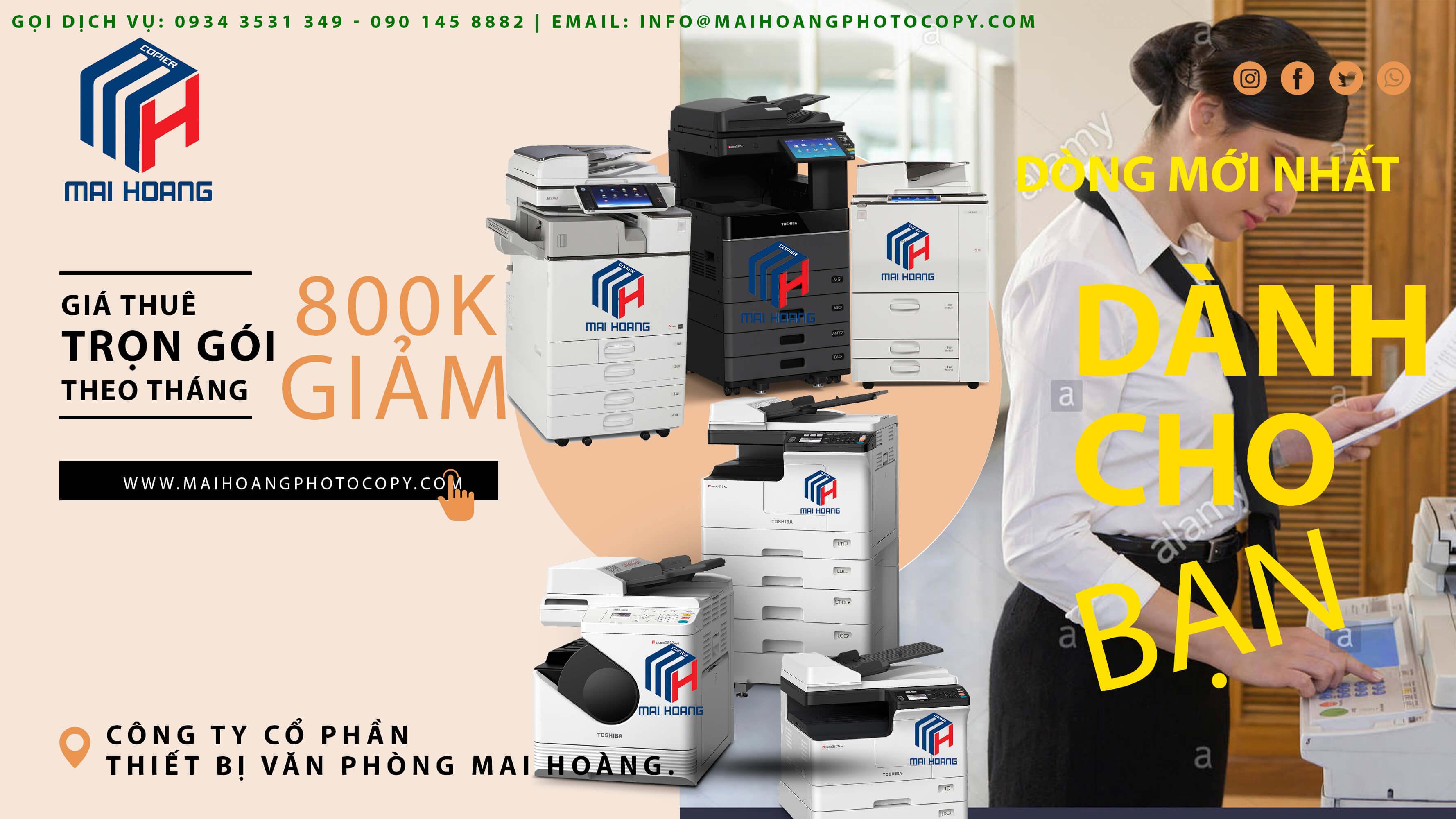 dịch vụ Cho Thuê Máy Photocopy Ricoh MP 5002