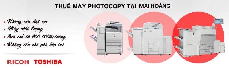 Bảng giá cho thuê máy photocopy tại hóc môn