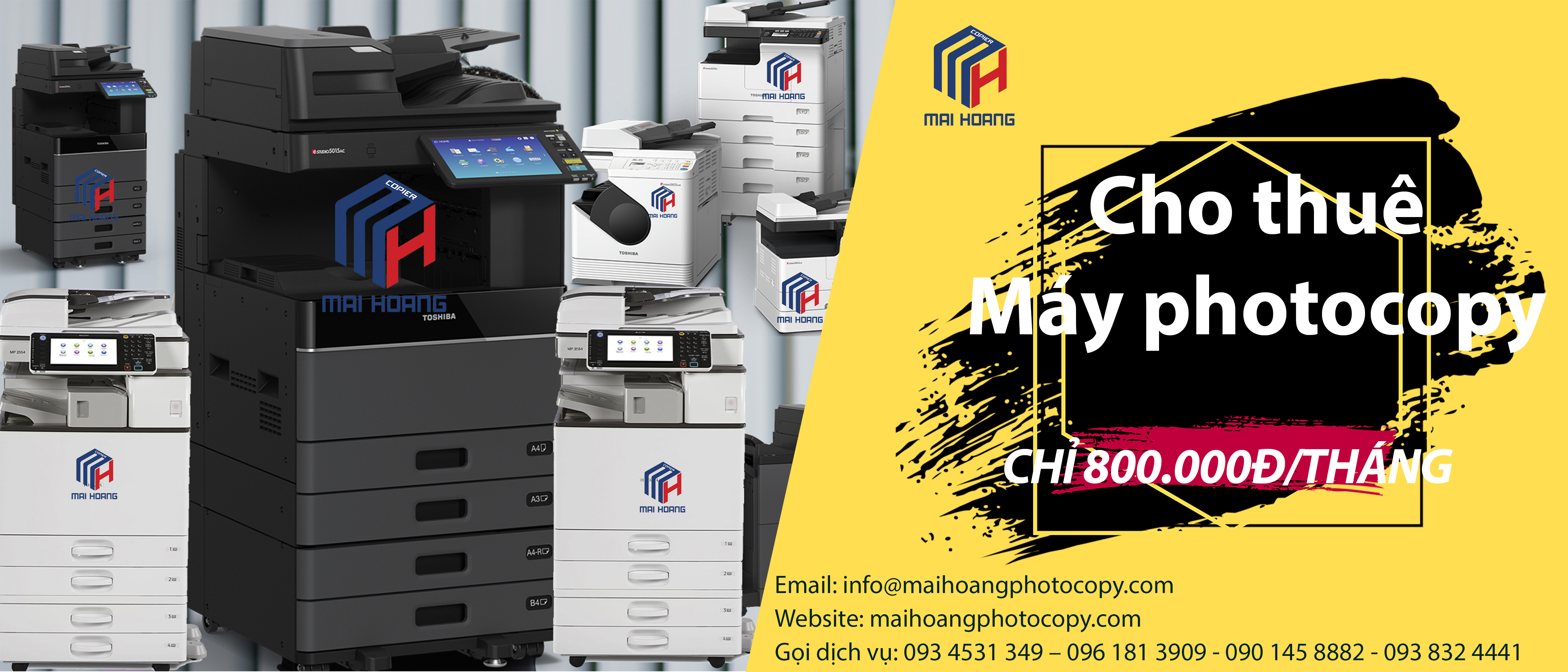 cho thuê máy photocopy tại củ chi