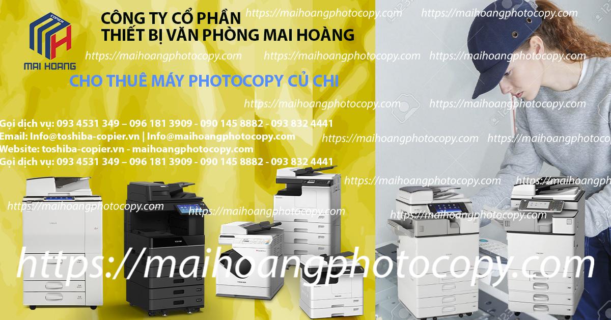 dịch vụ cho thuê máy photocopy ở củ chi