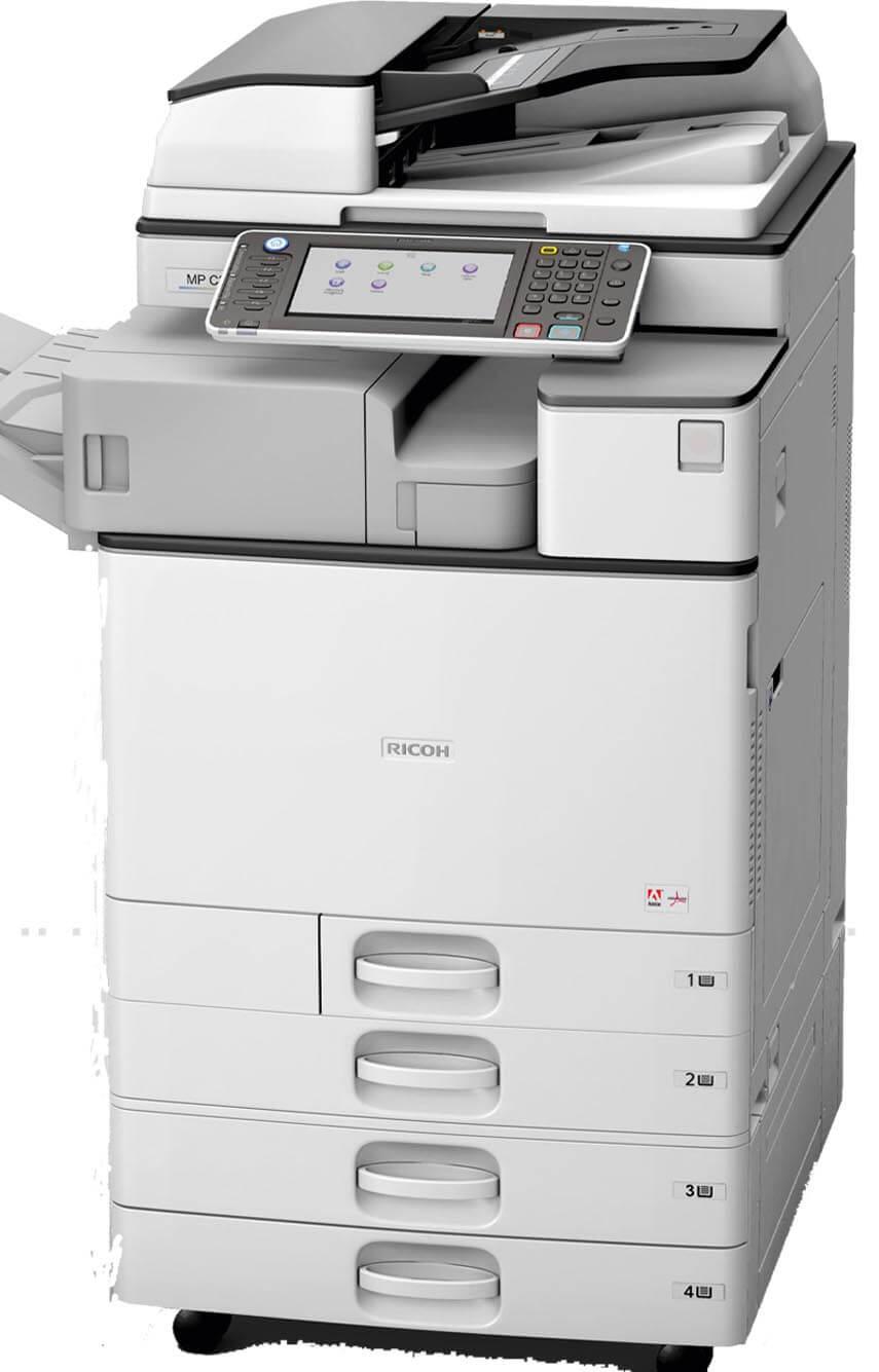 Cho thuê máy photocopy Ricoh 3054sp đen trắng