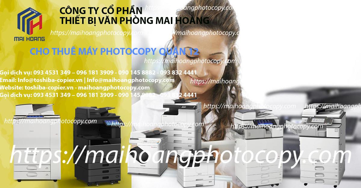dịch vụ cho thuê máy photocopy tại quận 12