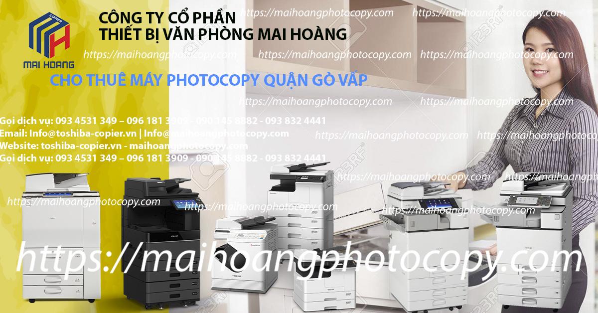 Dịch vụ cho thuê máy photocopy tại quận gò vấp - Dịch vụ cho thuê máy in tại quận gò vấp