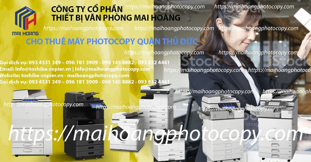 Dịch vụ cho thuê máy photocopy tại quận phú nhuận