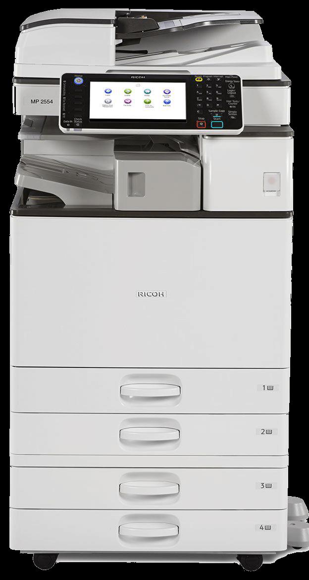 Cho thuê máy photocopy Ricoh 5054 đen trắng tại thủ đức