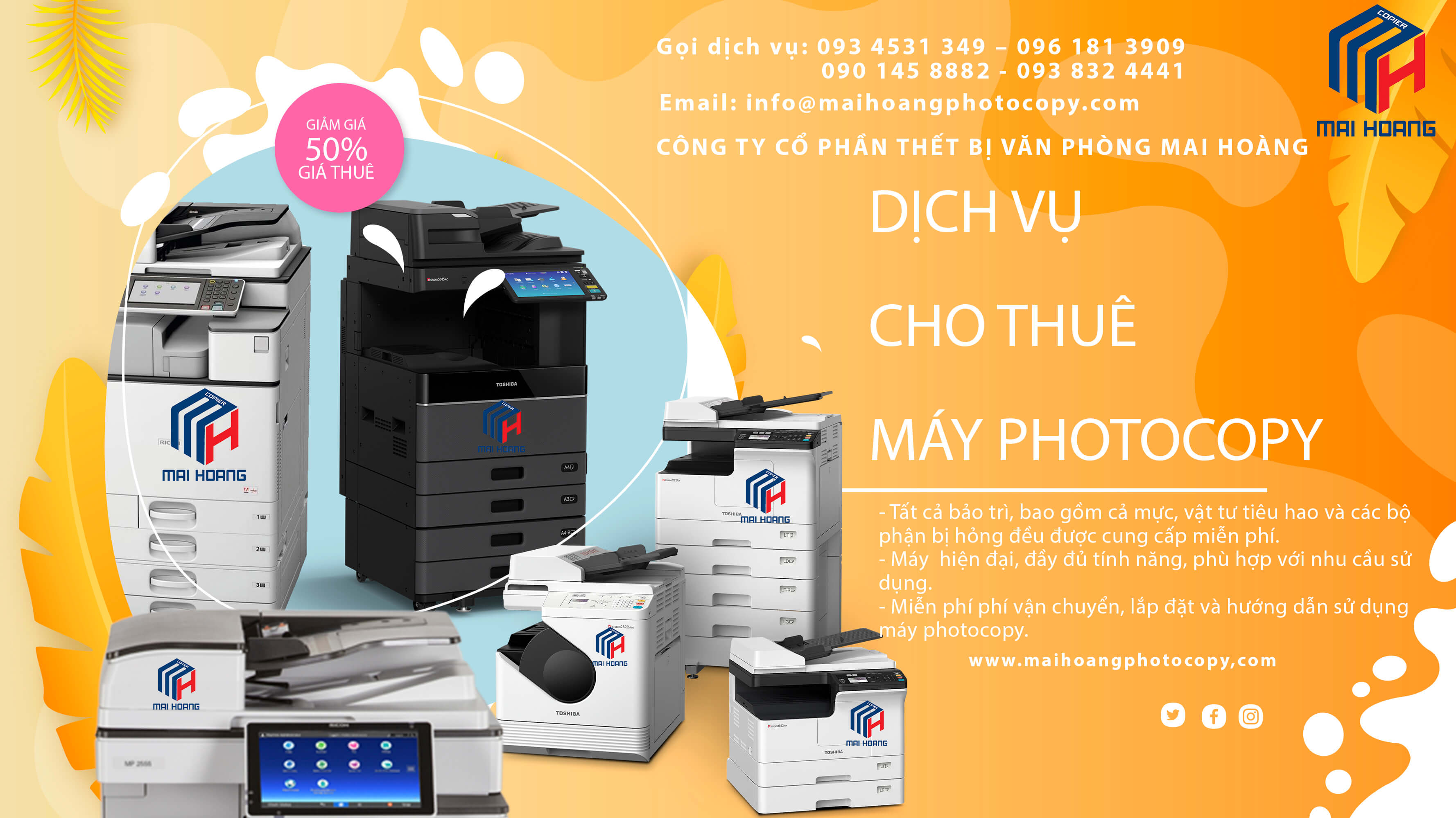 cho thuê máy photocopy quận 3