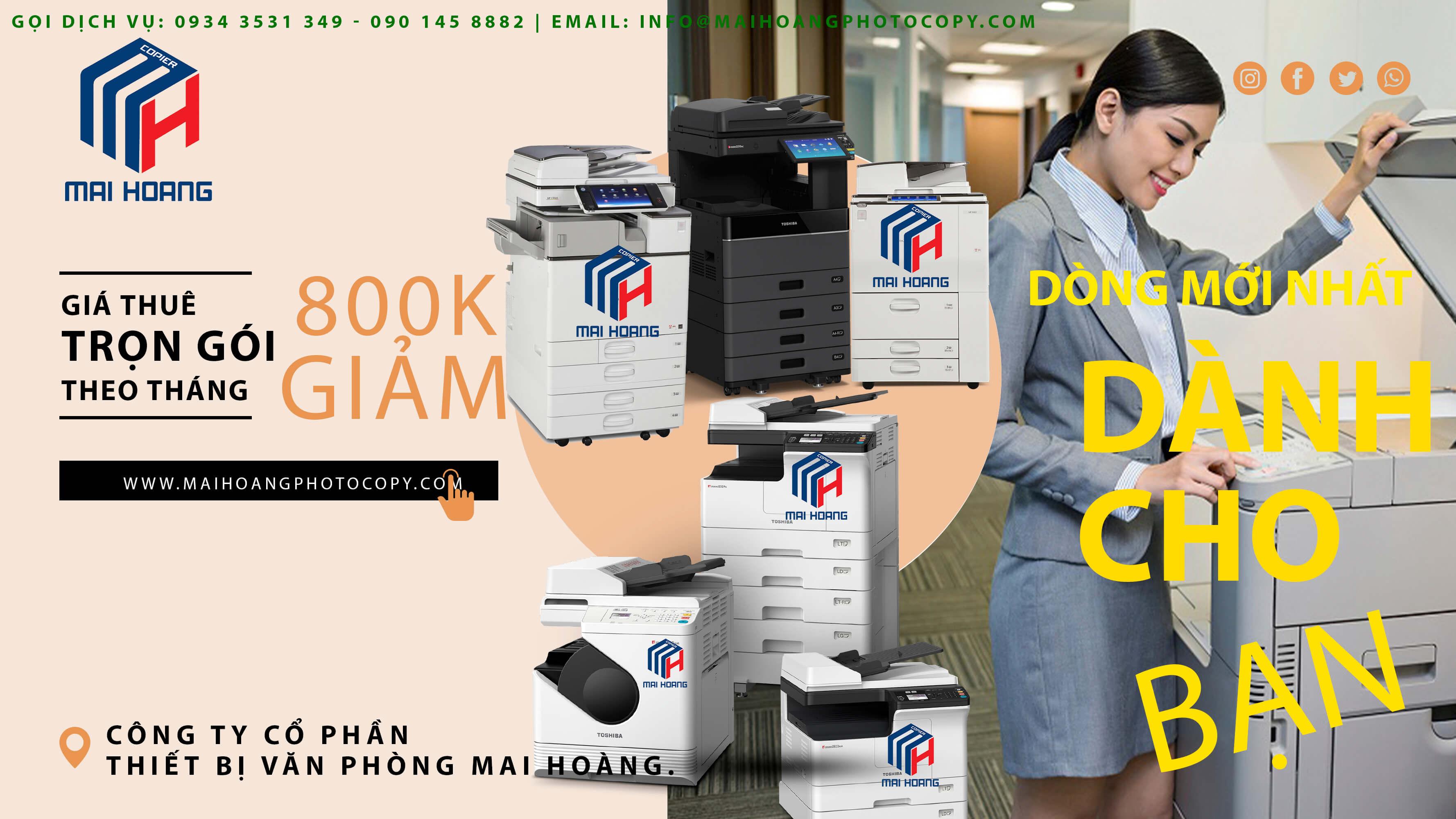 công ty cho thuê máy photocopy