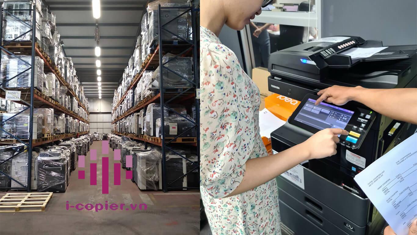 công ty cho thuê máy photocopy Với kinh nghiệm nhiều năm cùng đội ngũ nhân viên có chuyên môn cao, am hiểu về các dòng sản phẩm ricoh, Mai hoàng tự tin là công ty cung cấp dịch vụ cho thuê máy photocopy với chất lượng tốt nhất cùng mức giá ưu đãi nhất.