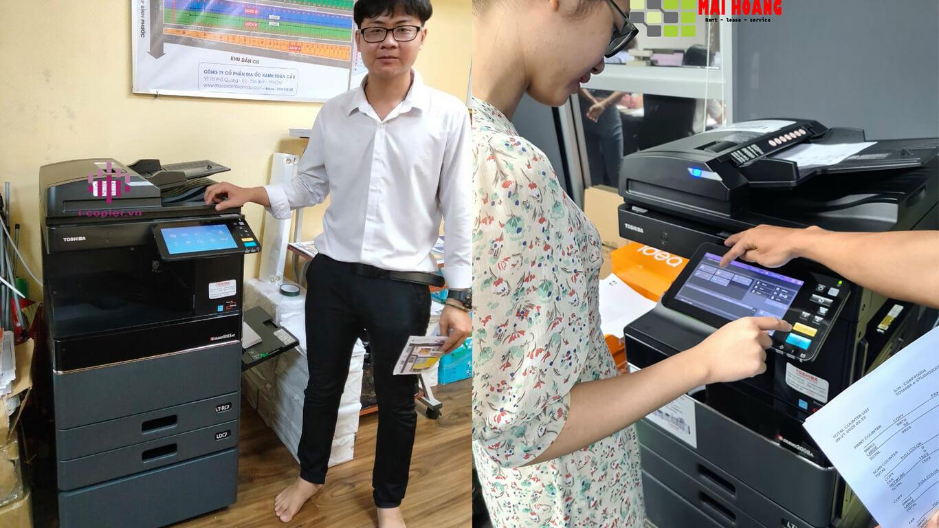 Cho thuê máy photocopy (photocopier rental service) là một loại dịch vụ thuê máy photocopy được cung cấp bởi công ty mai hoàng chuyên cho thuê Hiểu được nhu cầu số hóa tài liêu của khách hàng vì thế máy Scan tài liệu cũng là một phần không thể thiếu khi sử dụng máy photocopy, kể từ 2020 Mai hoàng đã trang bị tất cả các máy photocopy thuê là nhũng máy photocopy có tính năng Scan màu, cùng nhiều tính năng nhu Scan qua Email, FPT,SMB,Web...