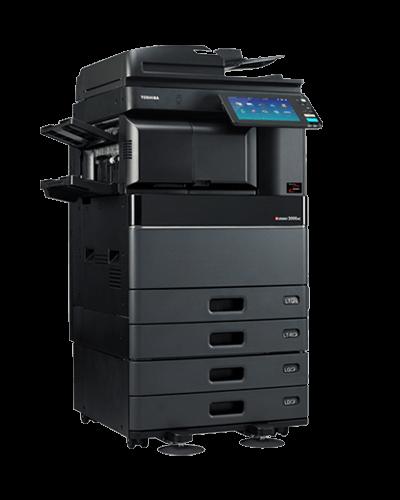 cho thuê Máy in Toshiba e-Studio 3508A với hệ thống dàn cơ kết cấu vững chắc, cụm trống (Drum) siêu bền với tuổi thọ cao, dung lượng hộp mực sử dụng lên đến hơn 43.900 trang A4 giúp tiết kiệm thời gian và tiền từ việc giảm bớt số lần thay thế mực.