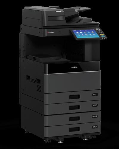 cho thuê máy in màu toshiba 3505ac Độ phân giải in/copy màu rất cao, phần cứng cực mạnh và độ bền tốt là đặc điểm của máy photocopy màu Toshiba 3505AC.