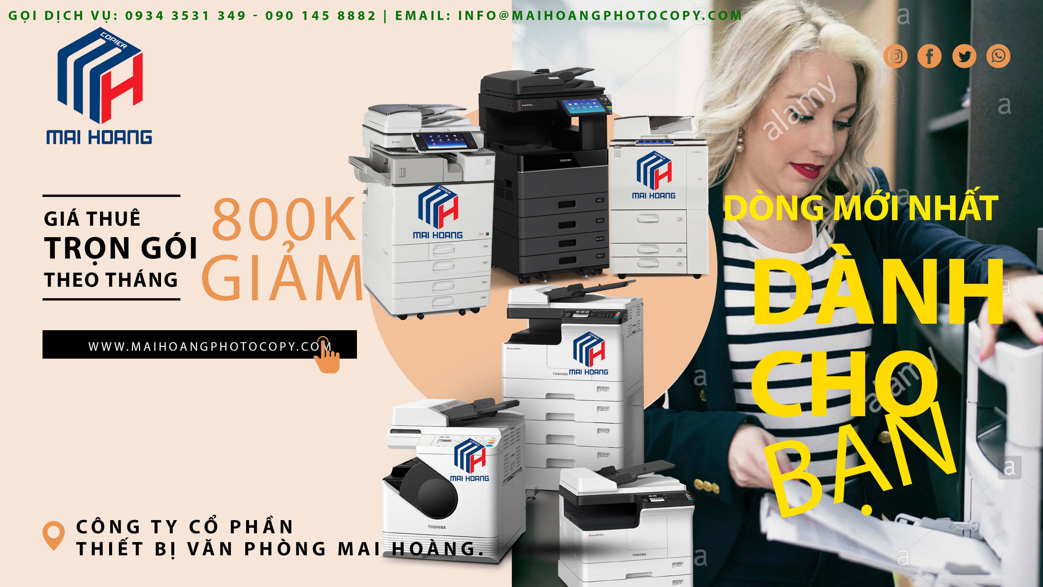 dịch vụ cho thuê máy photocopy quận 9