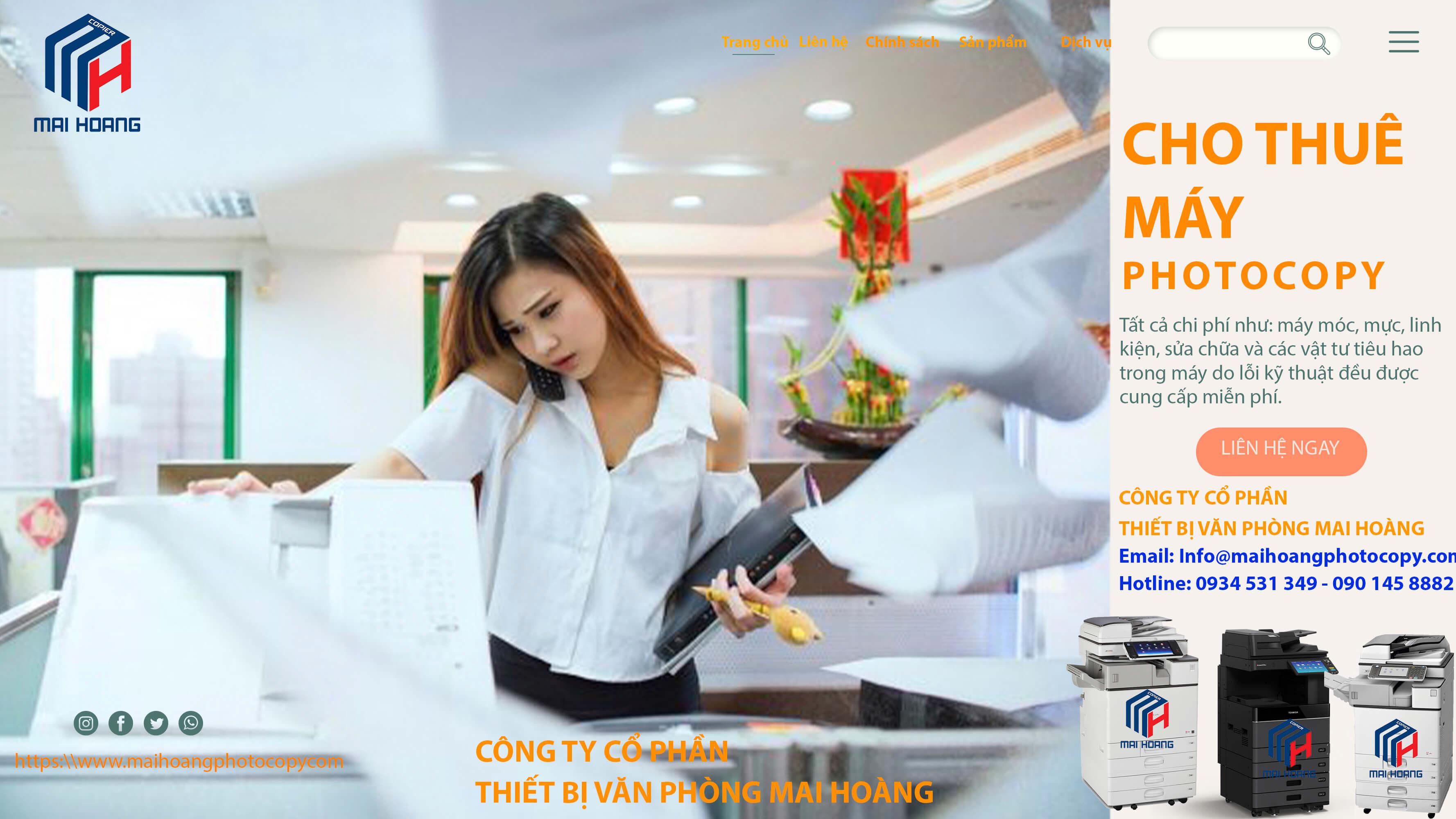 dịch vụ cho thuê máy photocopy quận 4