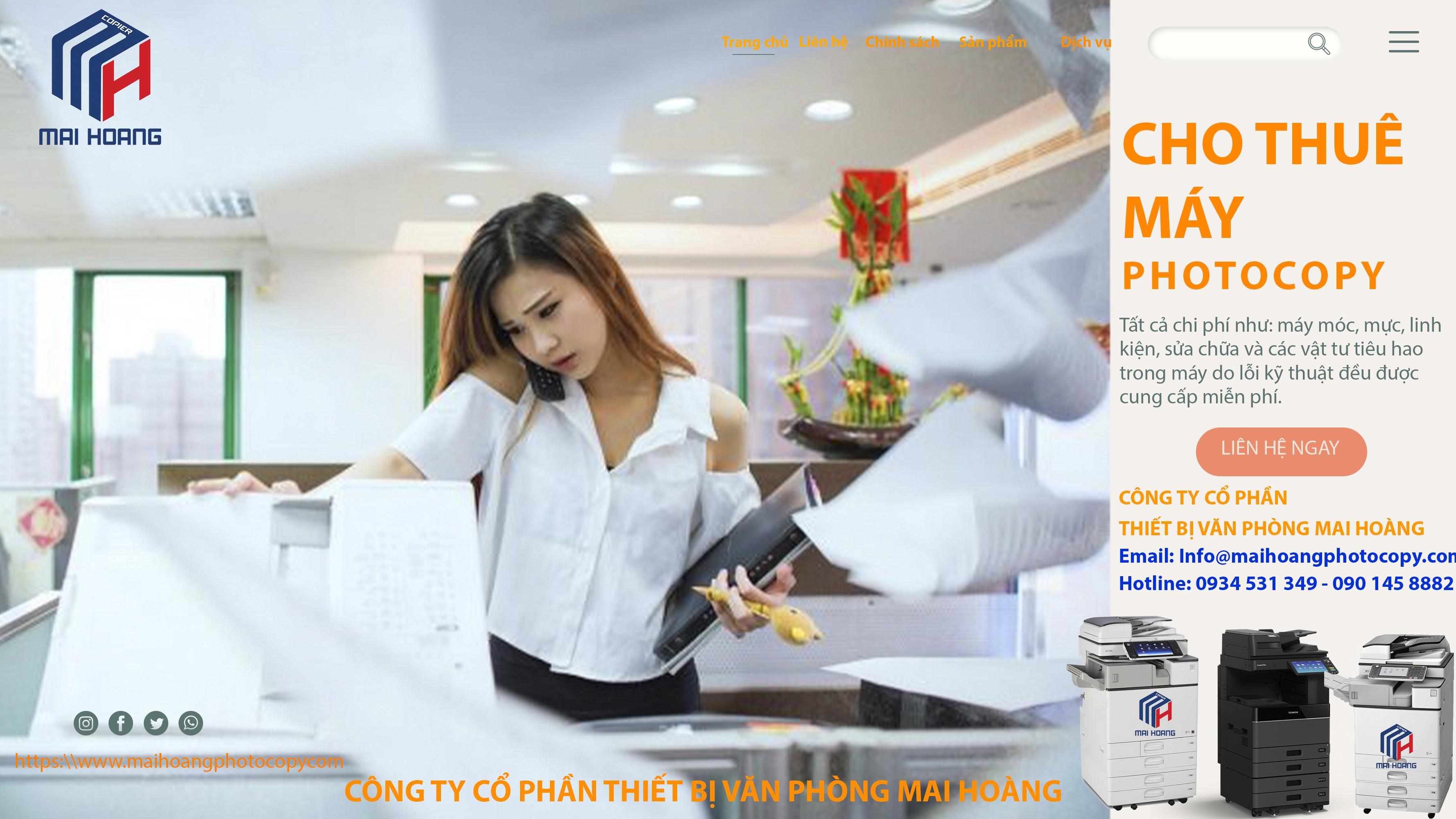 dịch vụ cho thuê máy photocopy tại Quận 11