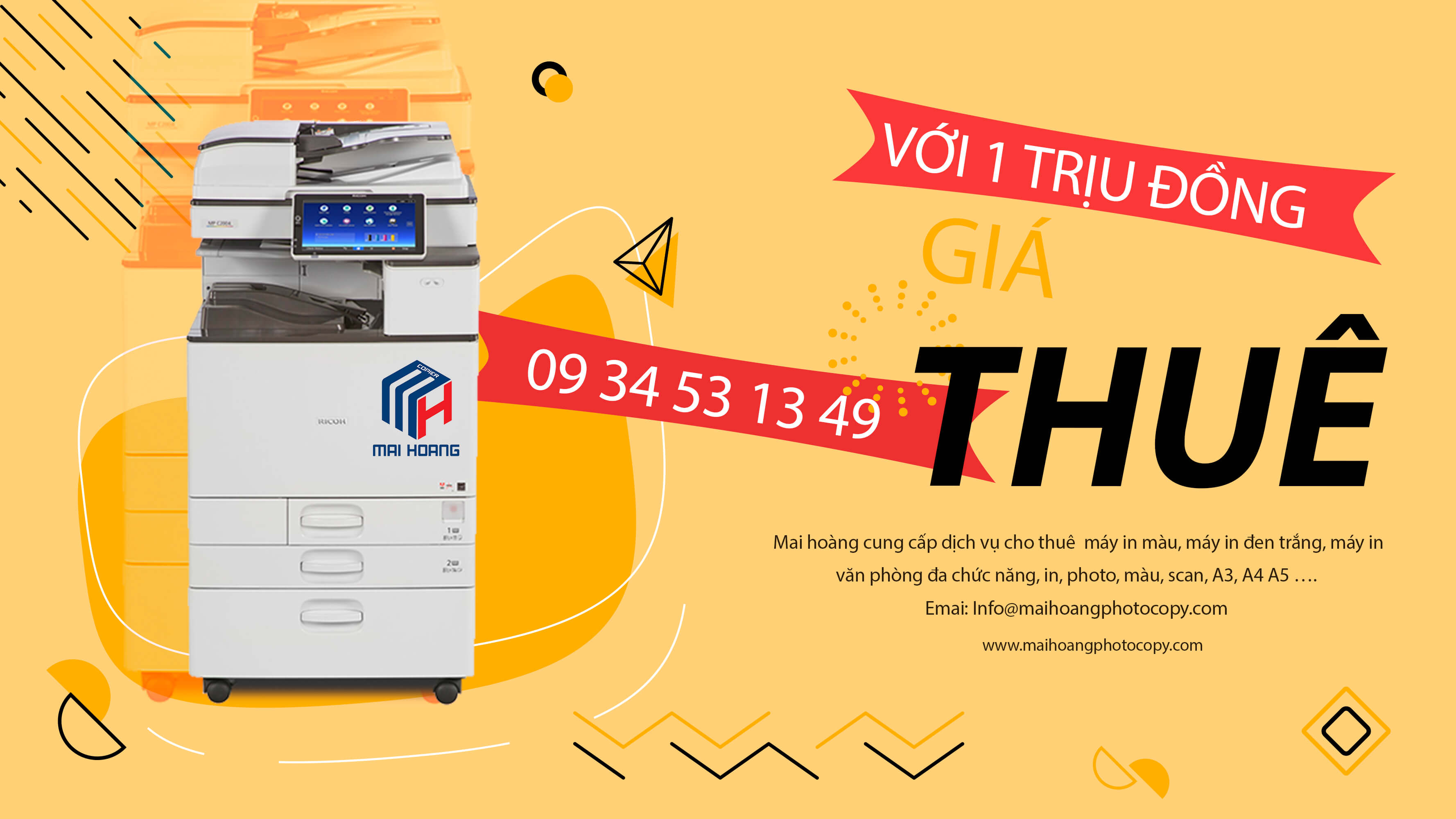 cho thuê máy photocopy ricoh 3054