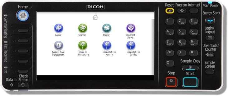 Cho Thuê Máy Photocopy Màu Ricoh Aficio MP C5502