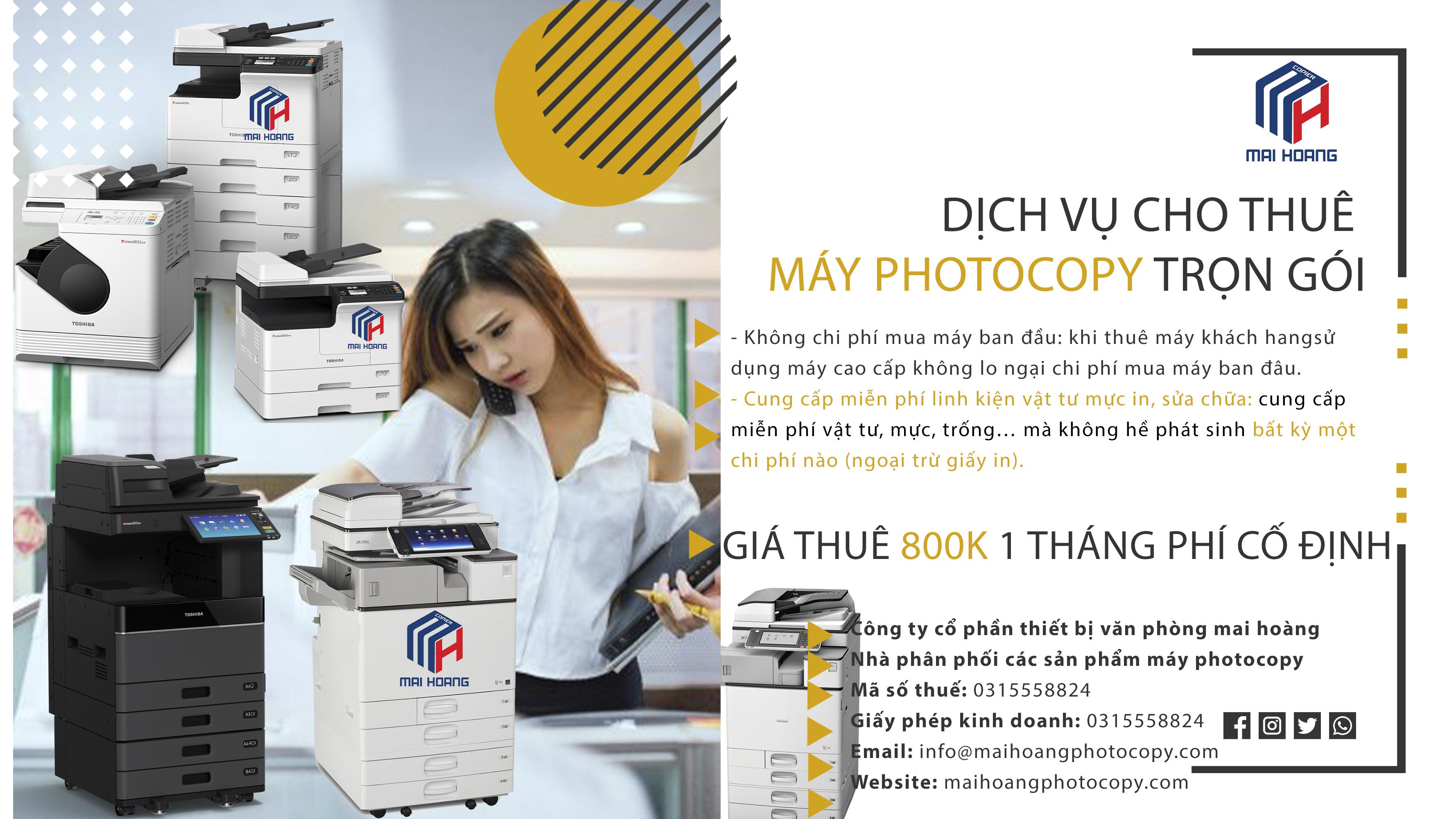 Cho ThuêMáy Photocopy Ricoh MP 6055SP