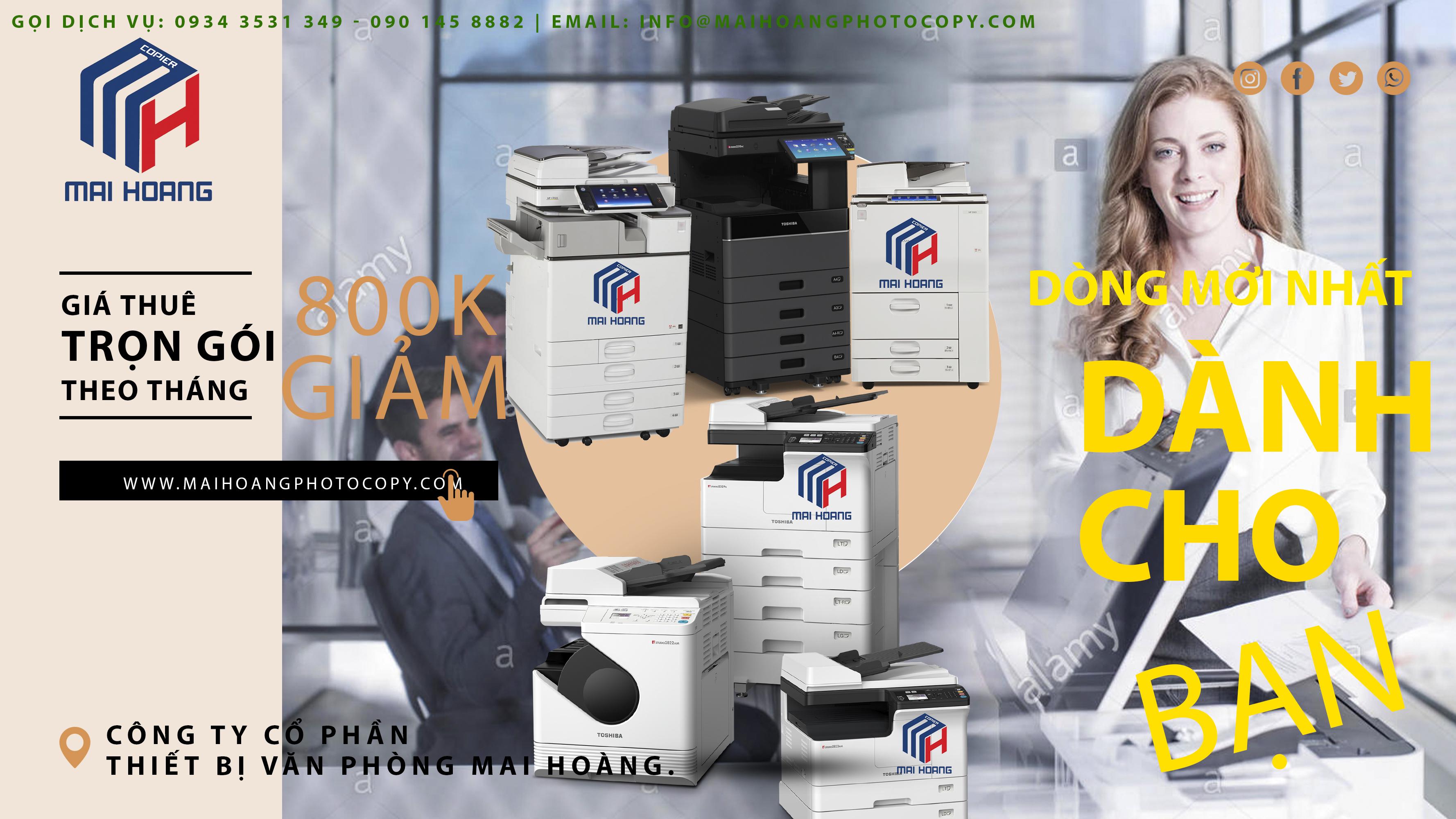 Giá Cho Thuê Máy Photocopy Ricoh Aficio MP 6055SP