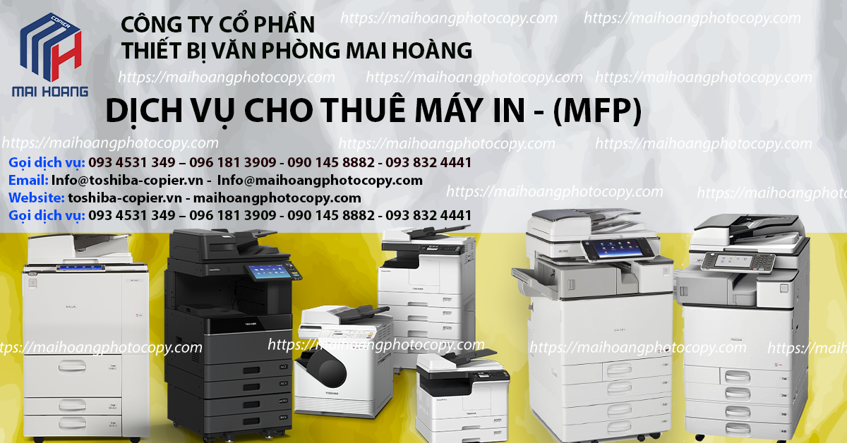 Dịch vụ cho thuê máy photocopy tại đồng nai - dịch vụ cho thuê máy in tại đồng nai