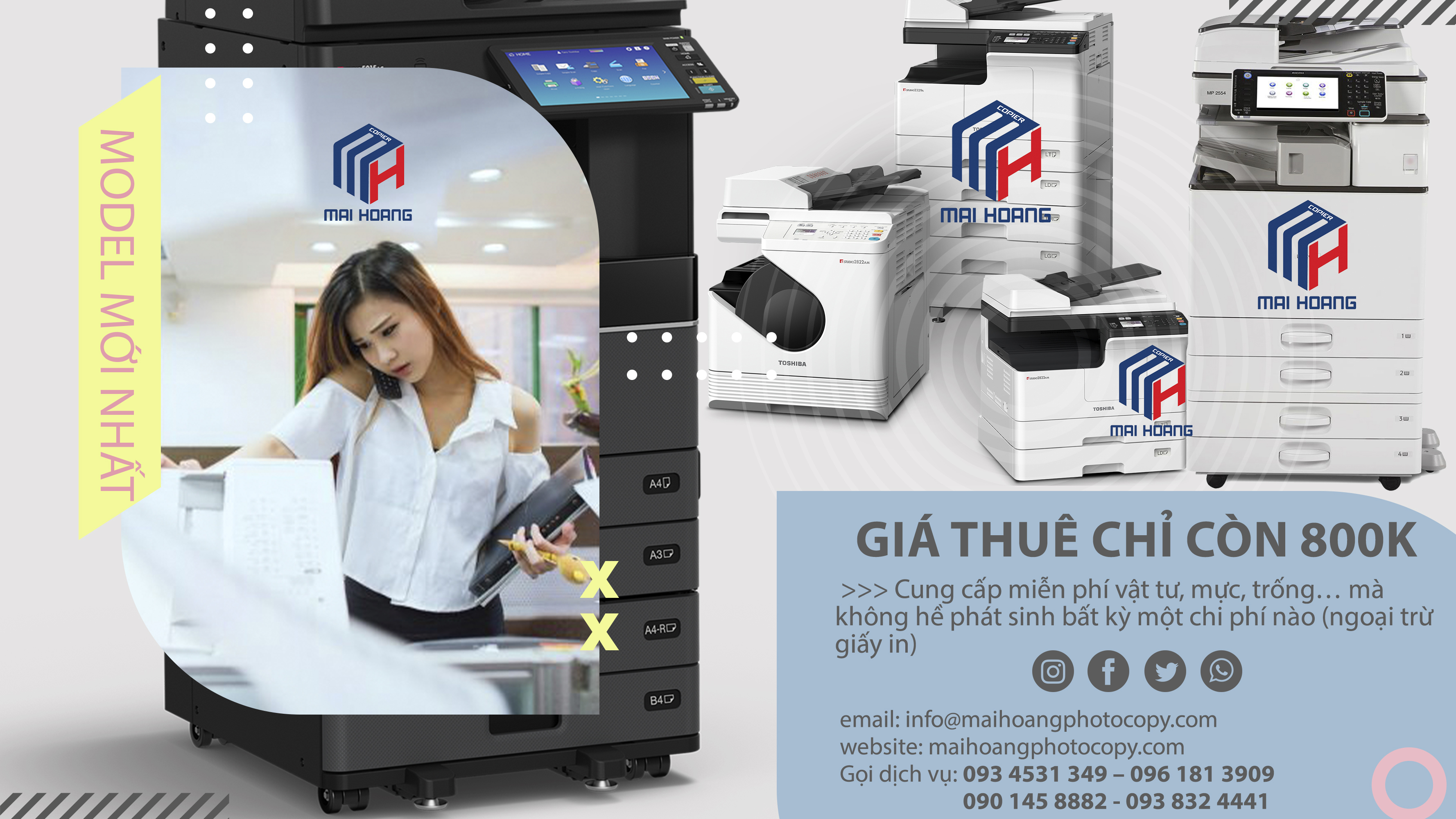 dịch vụ cho thuê máy photocopy tại đồng nai