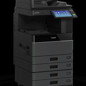 CÔNG TY Cho thuê Máy in màu đa chức năng Toshiba e-STUDIO 3505AC Về hạch toán kế toán thì đã không còn chi phí khấu hao nhiều rủi do cho doanh nghiệp rồi mà chỉ còn chi phí thuê theo tháng, một chi phí cố định dễ kiểm soát, là vấn đề rất dễ quản lý chi phí cho người chủ cơ sở kinh doanh, công ty