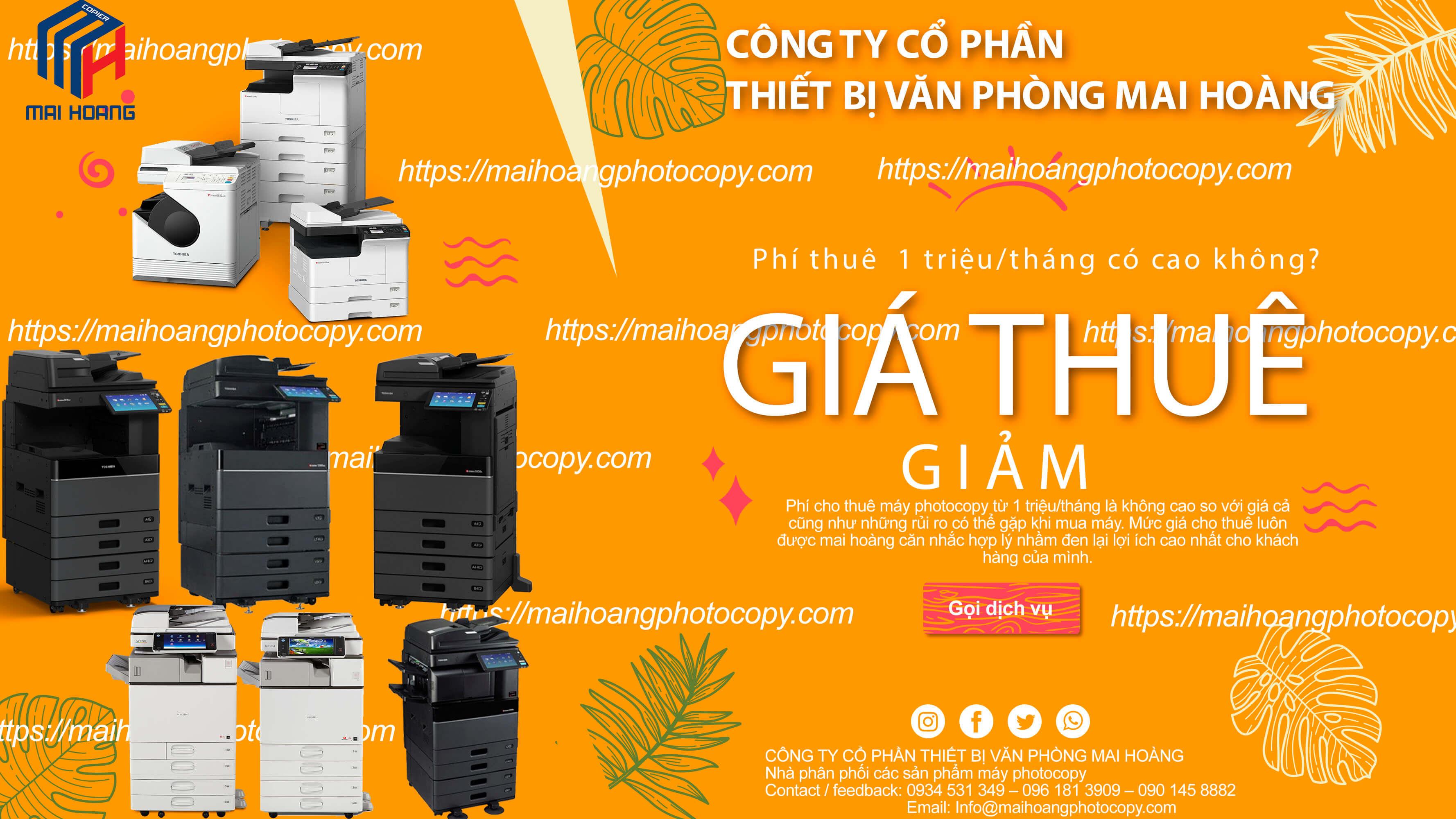 Cho thuê Máy in màu đa chức năng Toshiba e-STUDIO 3505AC