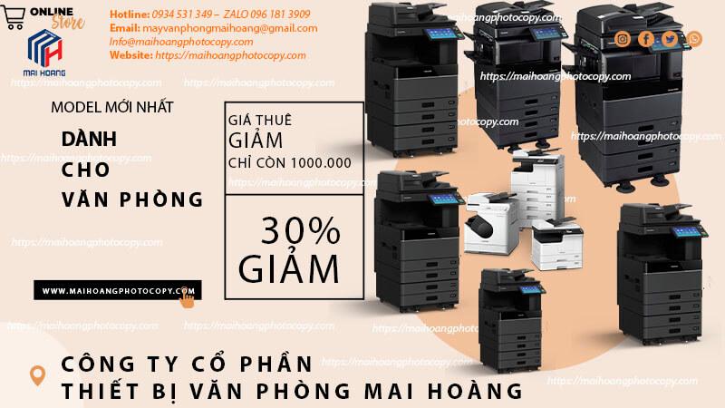 Cho ThuêMáy Photocopy Màu Toshiba e-STUDIO 4505AC