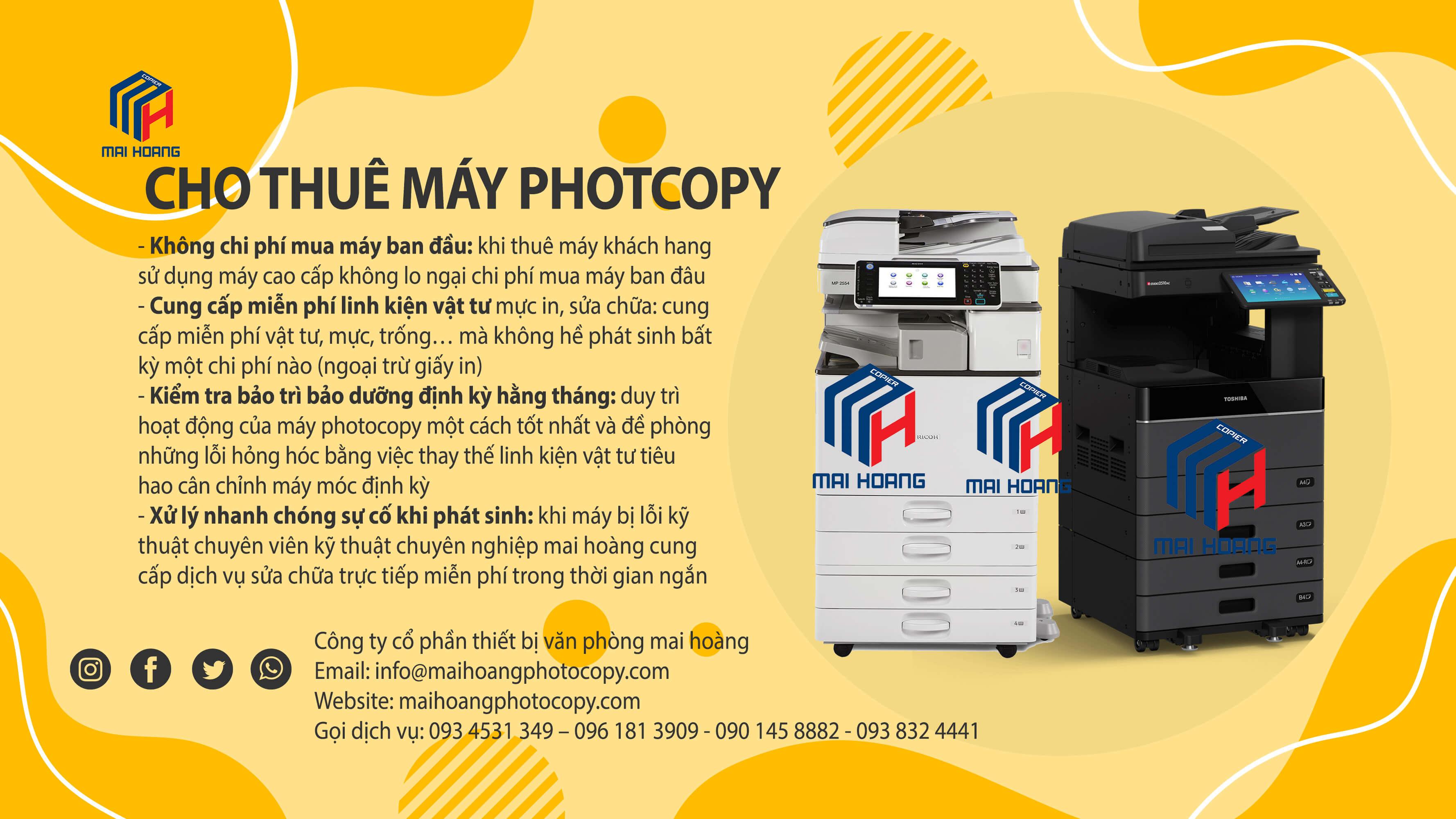 Cho Thuê Máy Photocopy Màu Ricoh MP C5503SP