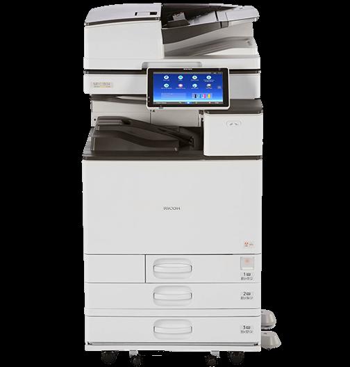 Cho Thuê Máy Photocopy Laser Màu Đa Chức Năng Ricoh MP C3004ex