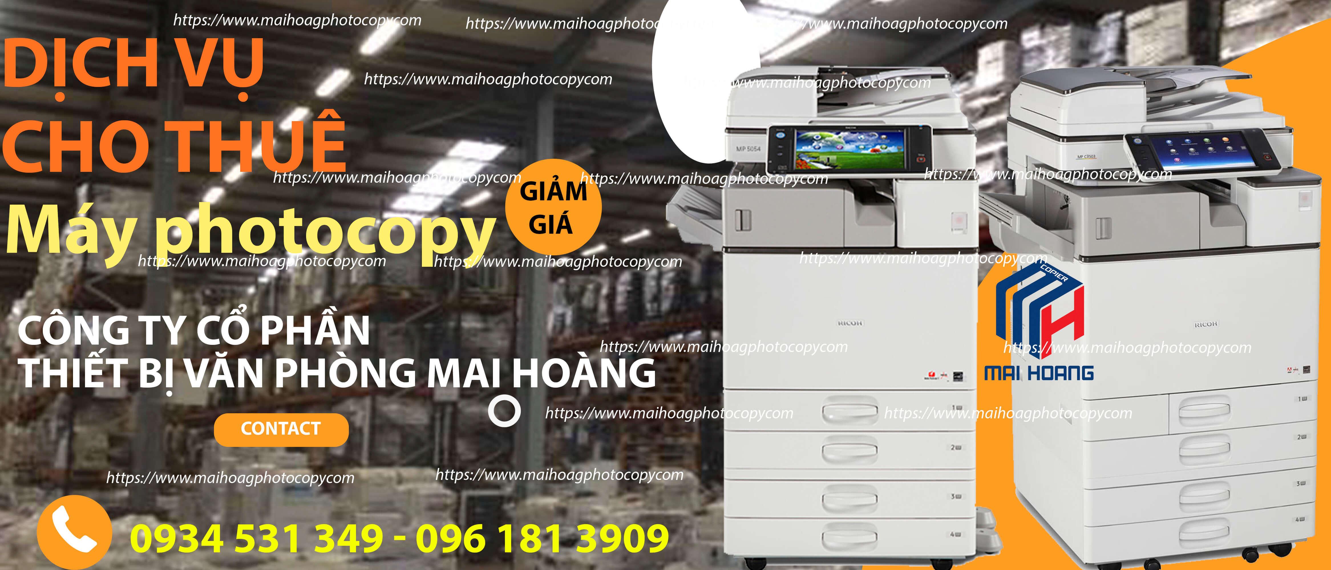 giá Cho Thuê Máy Photocopy Màu Đa Chức Năng Ricoh Aficio MP C3503