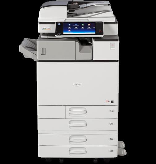Cho Thuê Máy Photocopy Màu Đa Chức Năng Ricoh Aficio MP C3003
