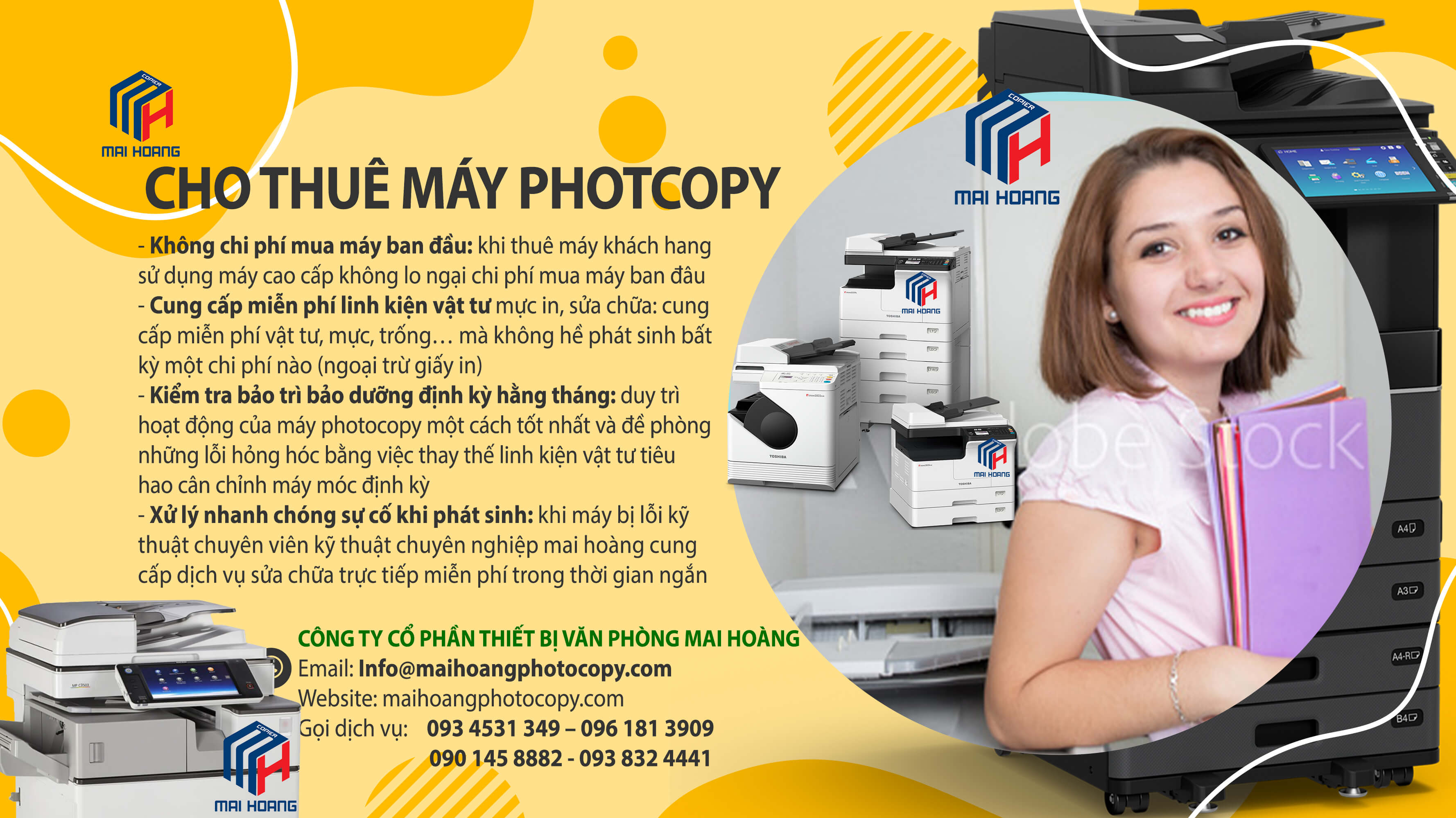 Cho Thuê Máy Photocopy Màu Đa Chức Năng Ricoh Aficio MP C6503