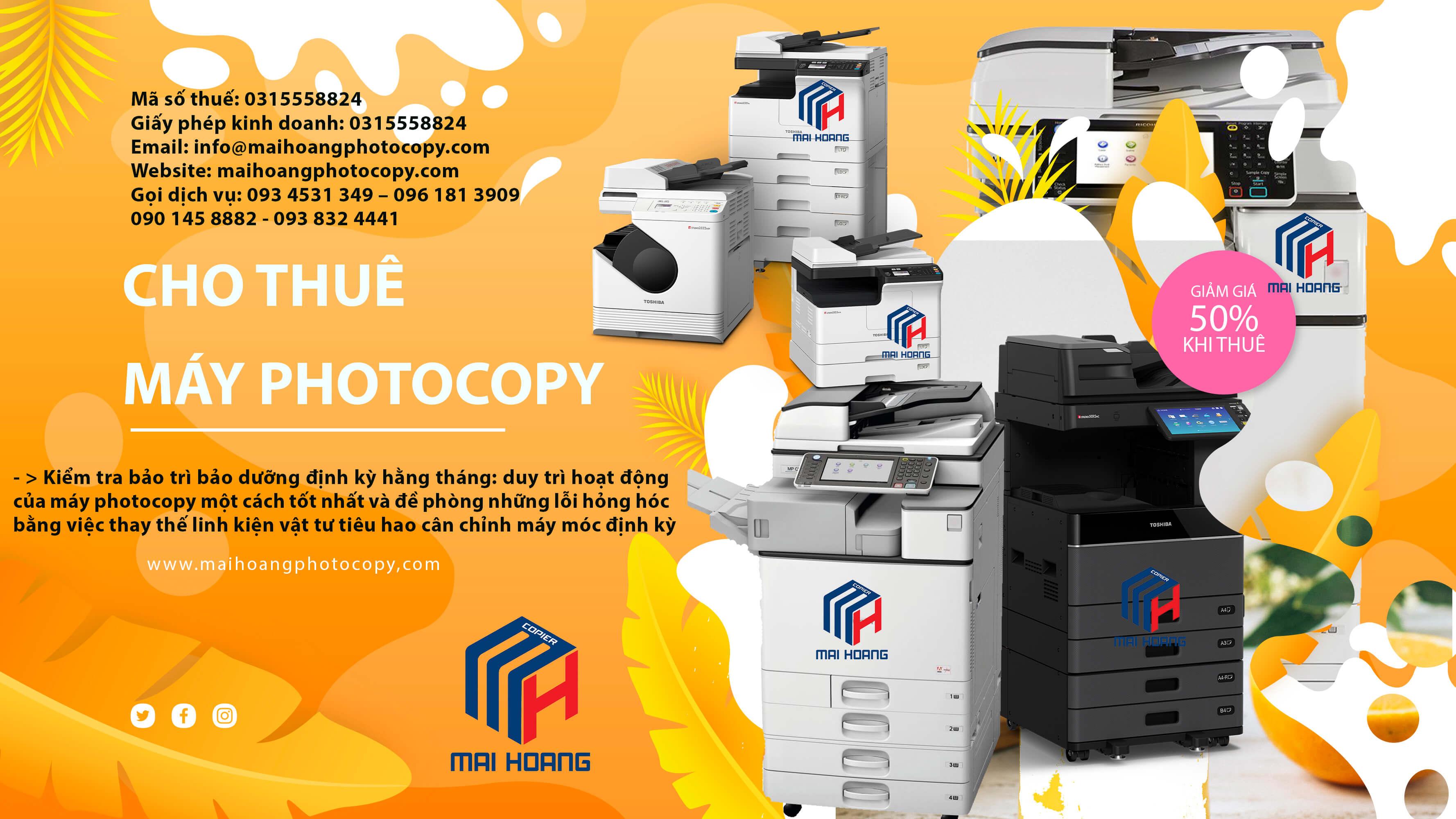 Thuê Máy Photocopy Laser Màu Đa Chức Năng Ricoh MP C3504ex Tại sao bạn nên lựa chọn dịch vụ thuê máy photocop