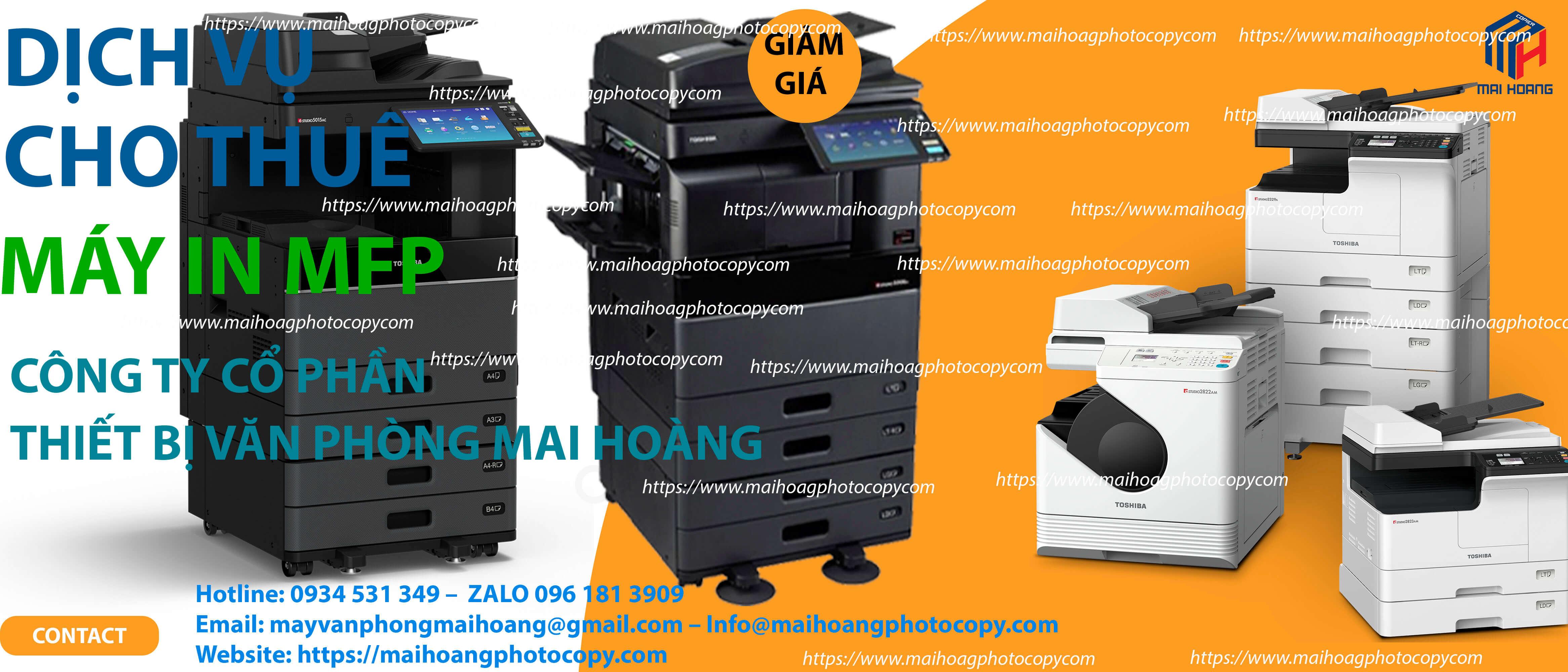 Cho Thuê Máy Photocopy Màu Toshiba e-STUDIO 4505AC